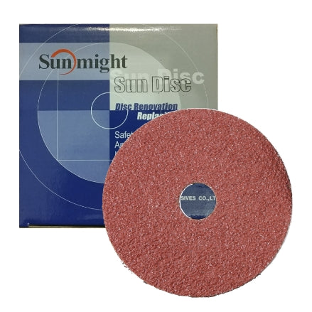"Sunmight 4.5"" Sun Disc Ceramic Resin Fiber Grinding Discs"