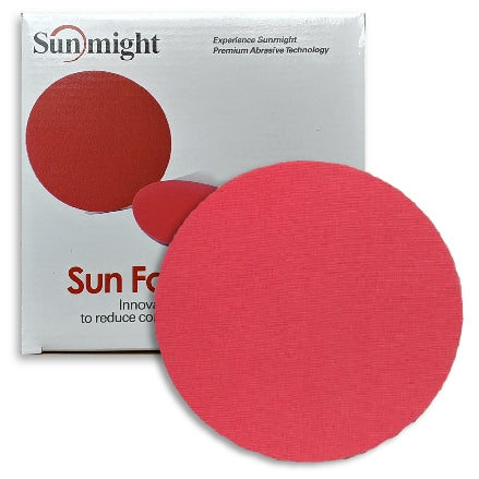 "Sunmight 6"" Sunfoam Grip Foam Sanding Discs"