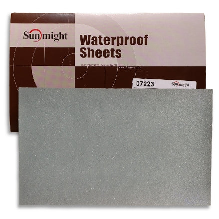Sunmight Waterproof Wet and Dry Sanding Sheets, 3000 Grit (07225)