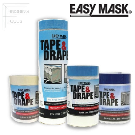Easy Mask Tape & Drape Pre-taped Masking Film