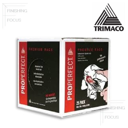 Trimaco ProPerfect Premium Wipers, 25 Count, 80025