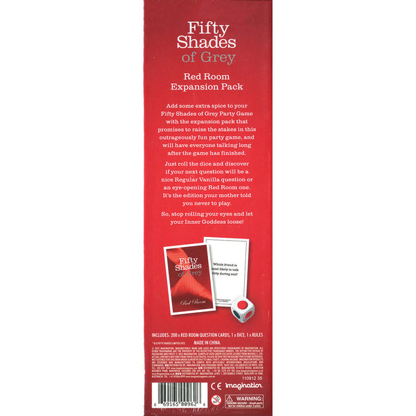 Fifty Shades of Grey Red Room Expansion Pack