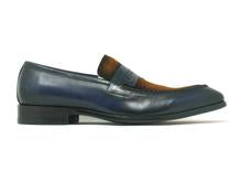 Patina Finished Leather Penny Loafer
