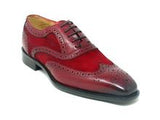 Carrucci Leather and Suede Oxford