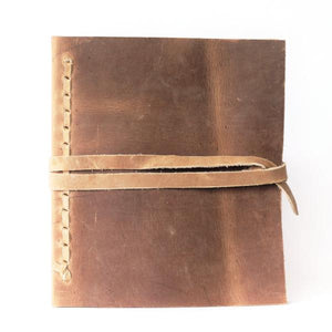 Leather Bound Journal - Large