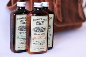 Chamberlain's Restore and Protect Leather Care Set: No. 1 No. 2  No. 3