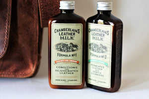 Chamberlain's Clean and Condition Leather Care Set: No. 1 & No. 2