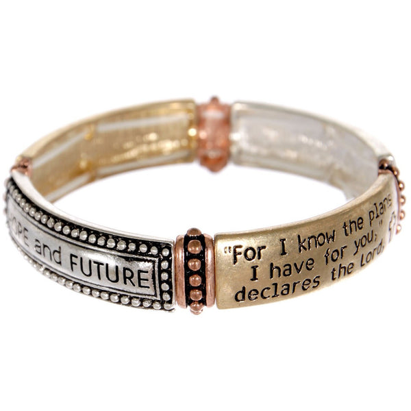 Hope and Future Stretch Bracelet