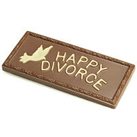 Happy Divorce Plaque