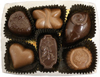 6 Piece Assorted Chocolate Box