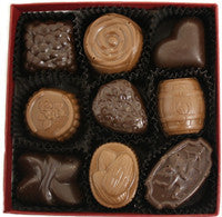 9 Piece Assorted Chocolate Box