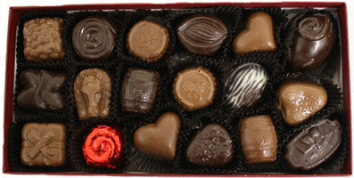 18 Piece Assorted Chocolate Box