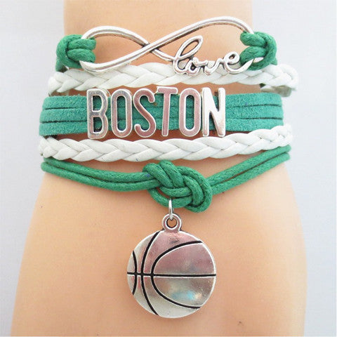 BOSTON CELTICS Basketball Bracelet