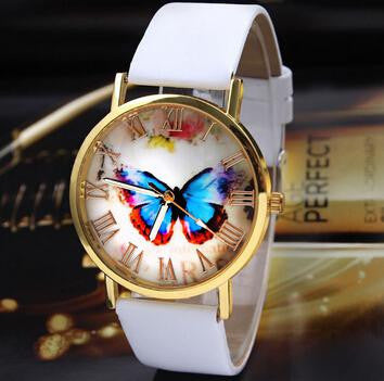 Butterfly Leather Watch