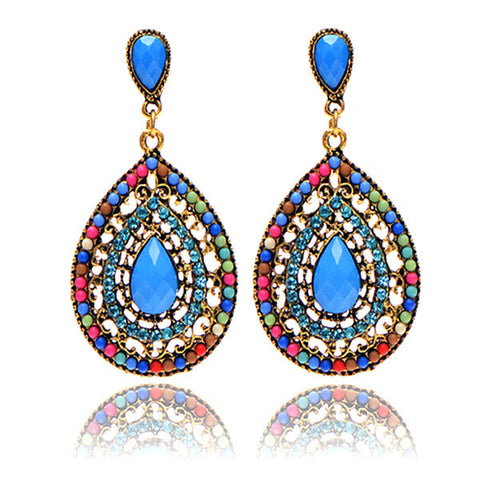 Colorful Dangle Drop Earrings