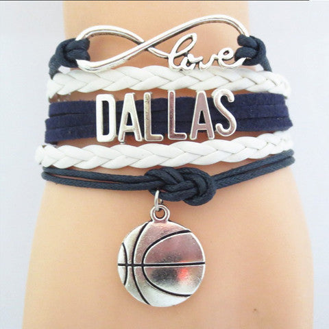 DALLAS MAVERICKS Basketball Bracelet