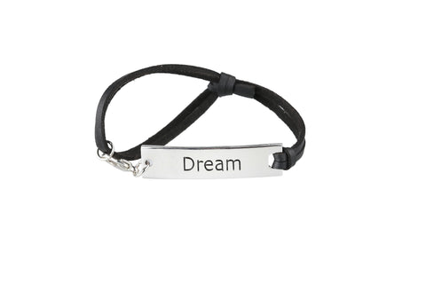 Dream Leather Strap Bracelet