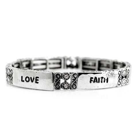 Love & Faith Bangle