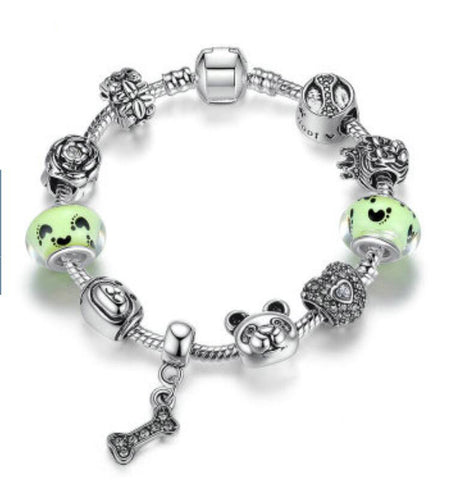 Puppy's Family Charms Bracelet
