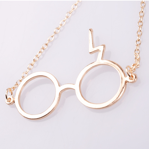 Scar & Glasses Necklace