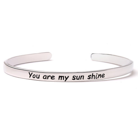 You Are My Sunshine Bangle
