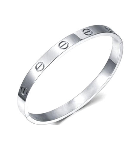 Silver Plated - Simplicity Bangle