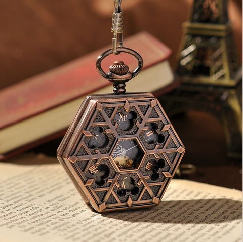 Hexlock Mechanical Pocket Watch