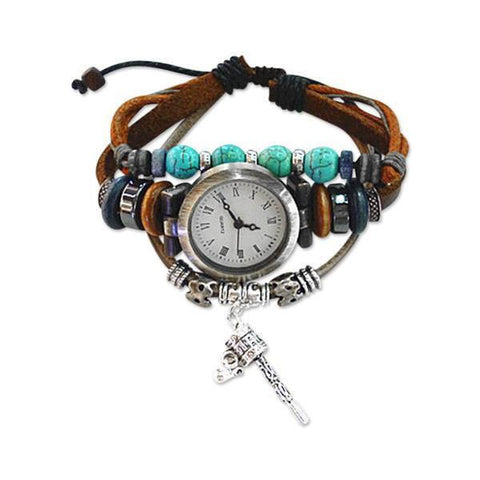 Wrap Around Charm Bracelet Watches