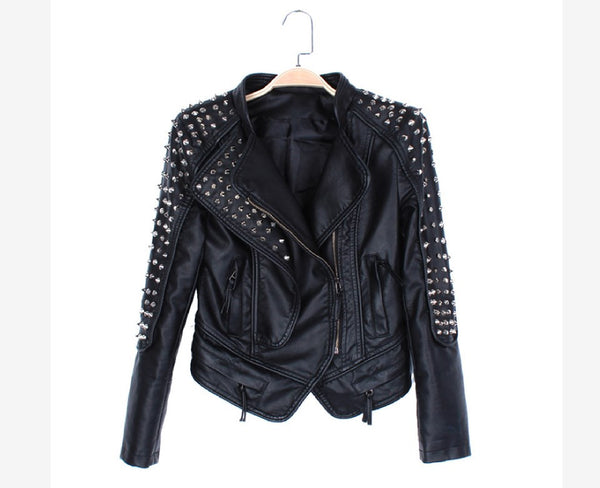 Queen of Boheme Spike Rivet Jacket
