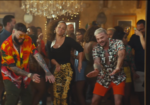 Alicia Keys New Calma (Remix) Video featuring Pedro Capó, Farruko, and Eight-X Menswear!