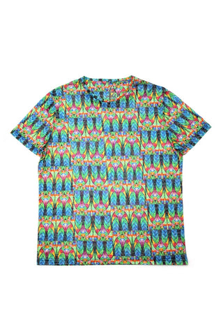 PRINTED GREEN T-SHIRT #1606