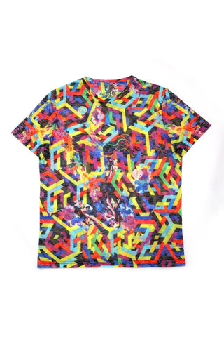 PRINTED COLOR T-SHIRT #1608