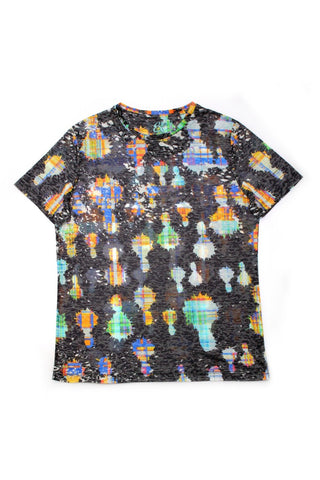 PRINTED BLACK T-SHIRT #1614