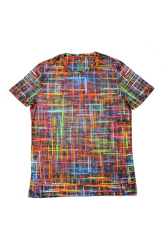 COLORED PRINTED T-SHIRT #1630