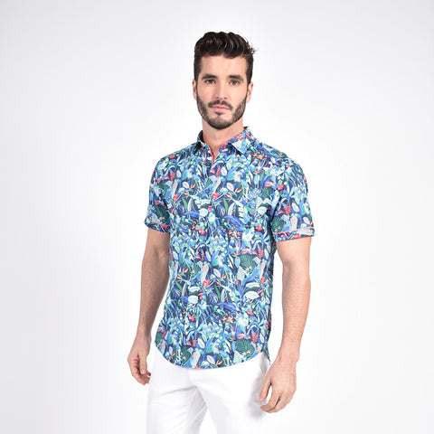 Brazilian Rain Forest Print Shirt