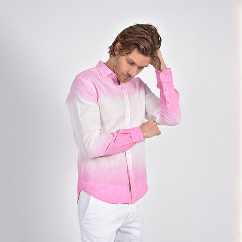 Pink Ombre` Shirt