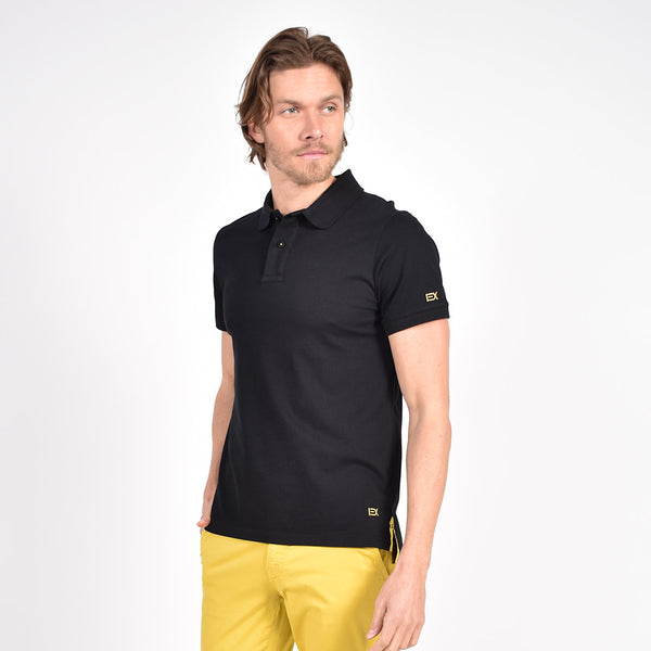 Black Polo with Yellow EX Logo
