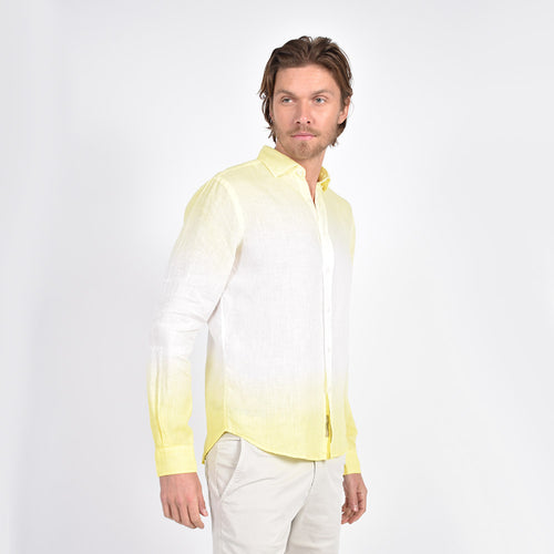 Yellow Ombre` Shirt
