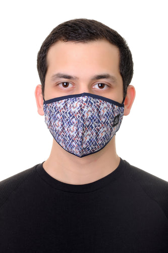 Face Mask Multi Shapes print