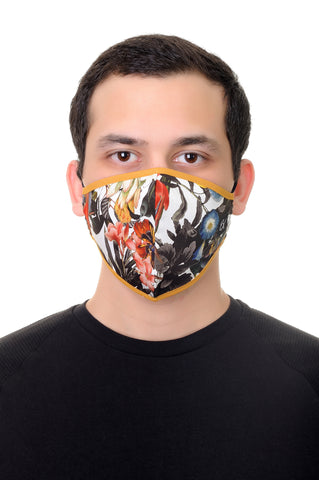 Face Mask Multi Floral print
