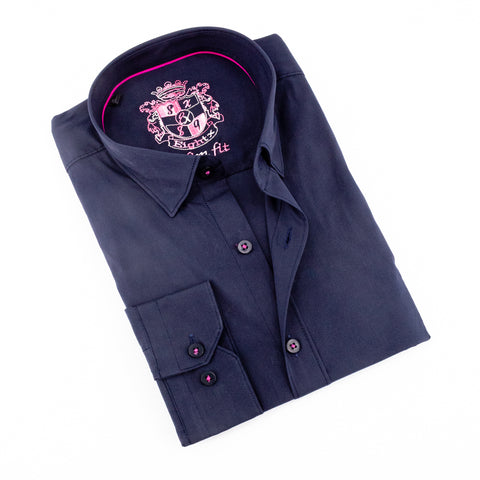 Stretch Navy Shirt