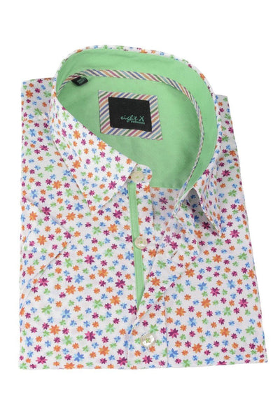 Green Stars Short Sleeve Shirt