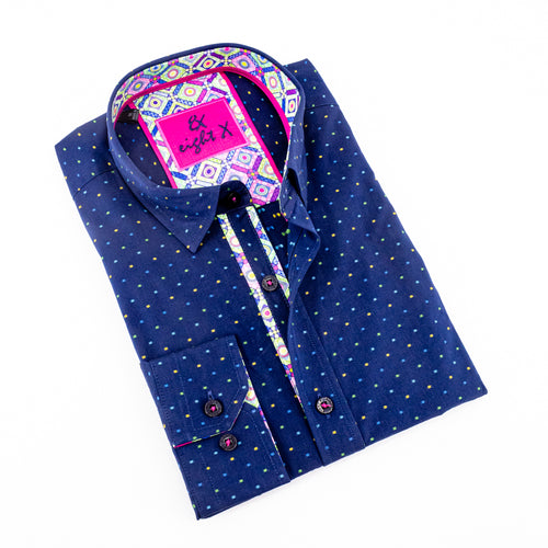 FILL COUPE DOTS SHIRT #M-860-1