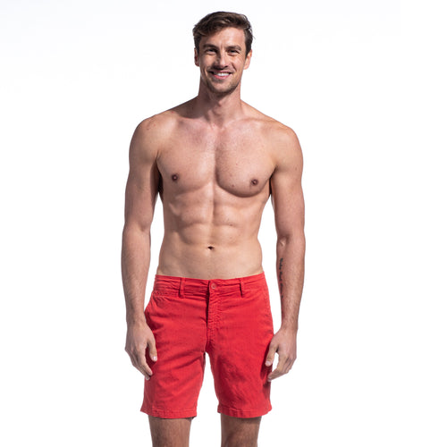The Carlo Short - Red