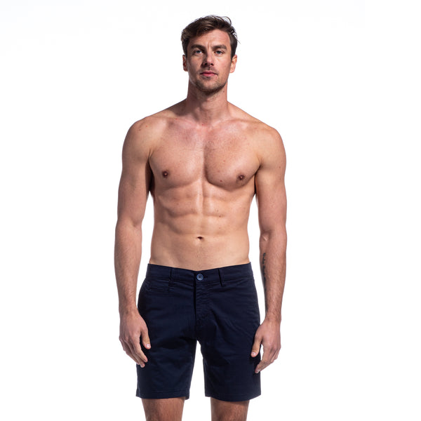 Navy Ex Frog Shorts