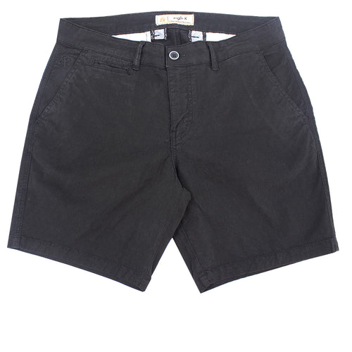Black Slim Fit Jacquard Shorts