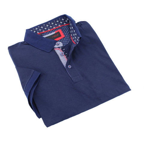 Navy Polo Shirt #T-6002
