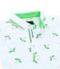 Green Dragonfly Flocking Polo
