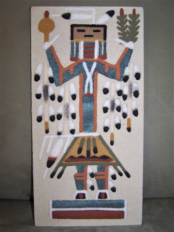 Southwest protective spirit sand painting
