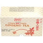 Sup-Red Panax Ginseng Instant Tea 30 Bags